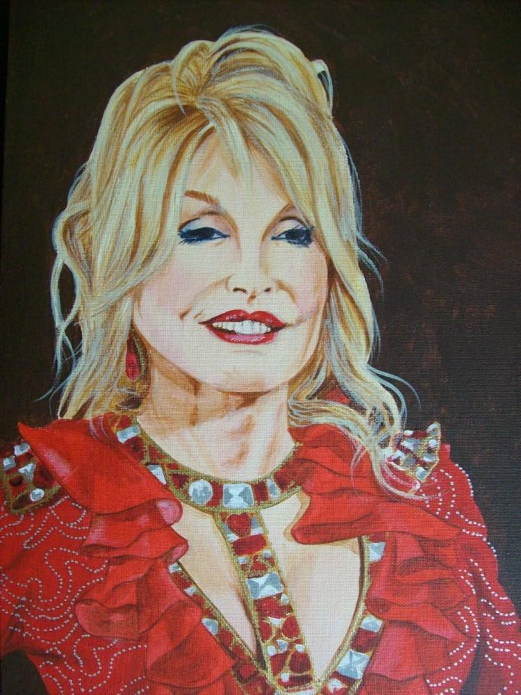 Dolly Parton par Tom-Heyburn